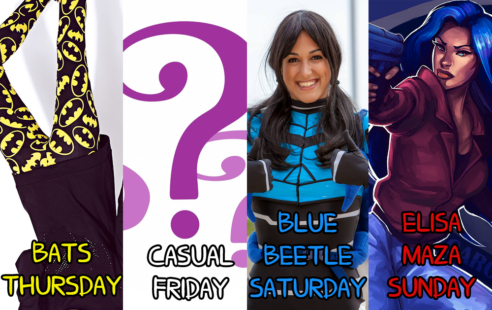 NYCC 2013 Cosplay Schedule