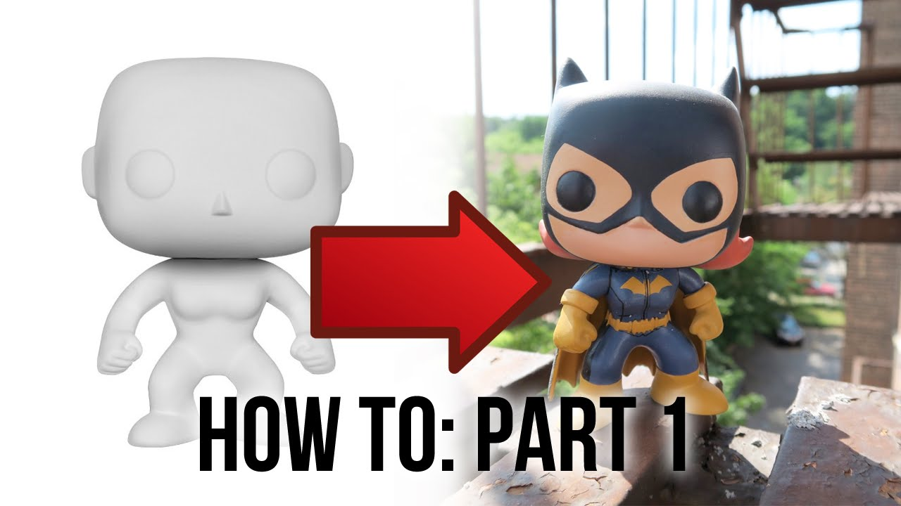 Customizing Funko Pop S What You Need Part 1